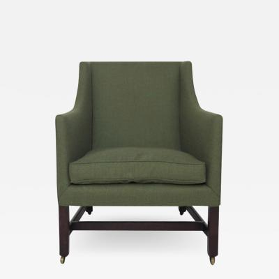 George III Library Chair with Marlborough Legs