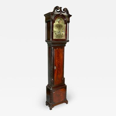 George III Mahogany Longcase Clock by William Taylor of Whitehaven Cumbria