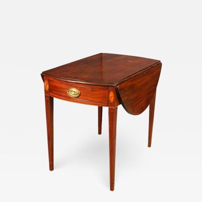 George III Mahogany Pembroke Table