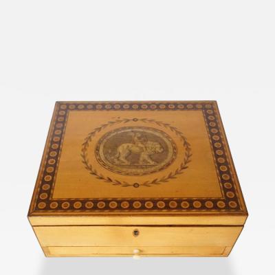 George III Satinwood Box