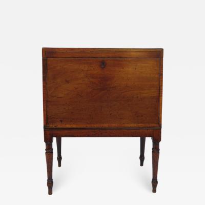 George III Sheraton Style Mahogany Cellarette
