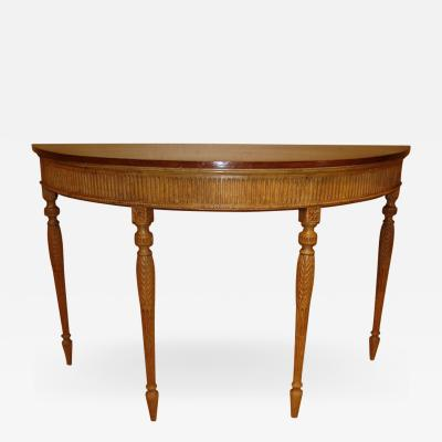 George III period stripped pine pier table Warner Brothers provenance