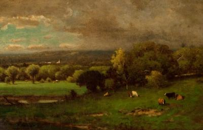 George Inness Across the Valley