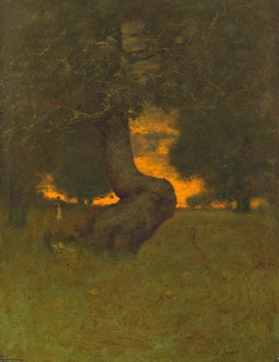 George Inness Sun Down II