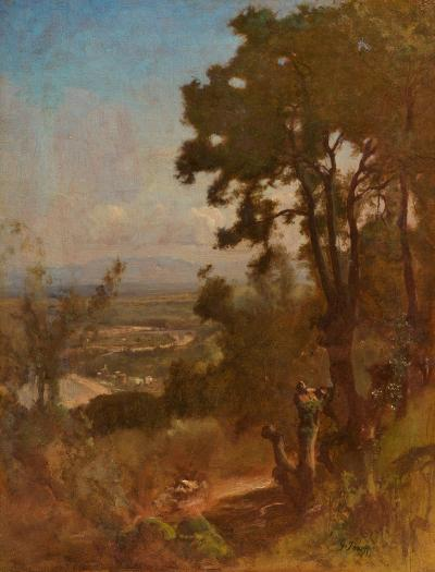George Inness Valley Near Perugia