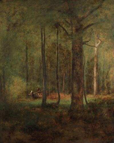 George Inness Woods at Montclair