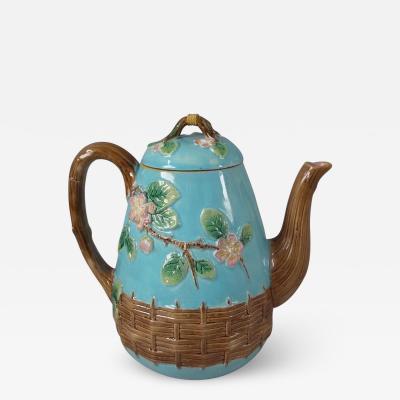 George Jones George Jones Blossom Teapot And Cover