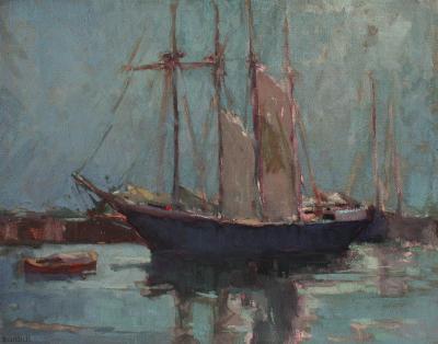 George Kennedy Brandriff Harbor Scene