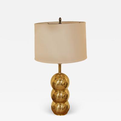 George Kovacs Kovacs Style Brass Orb Lamp