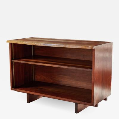 George Nakashima 1959 George Nakashima Open Cabinet in Persian Walnut with Signature