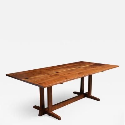 George Nakashima A Superb Walnut Frenchman s Cove Dining Table by George Nakashima