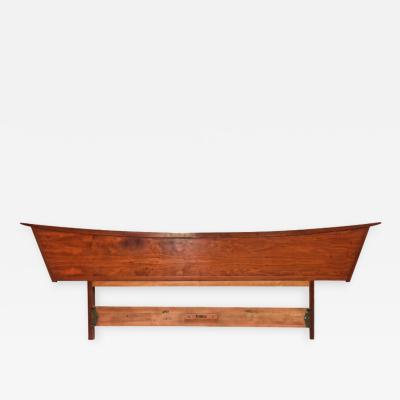 George Nakashima American Modern Walnut Headboard George Nakashima