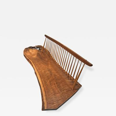 George Nakashima Conoid Bench by George Nakashima