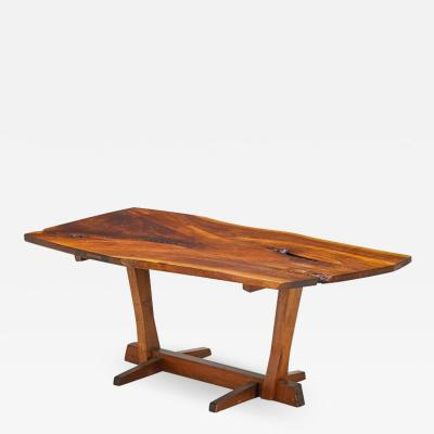George Nakashima Conoid Single Board Dining Table 1965