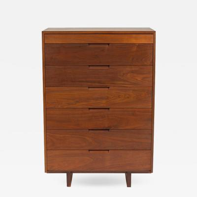 George Nakashima George Nakashima Black Walnut Chest of Drawers with Dovetail Joinery