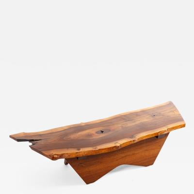 George Nakashima George Nakashima Butterfly Base Coffee Table