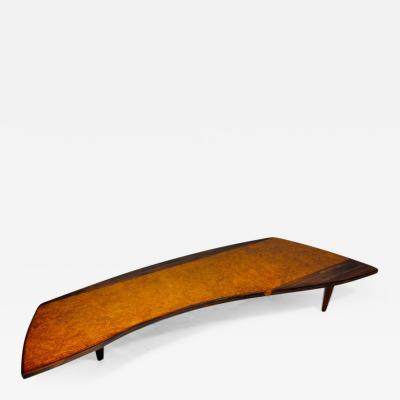 George Nakashima George Nakashima Coffee Table for Widdicomb
