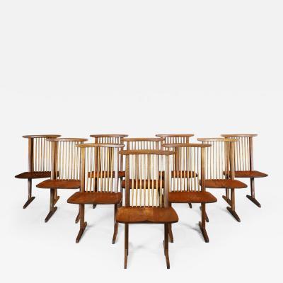 George Nakashima George Nakashima Conoid Chairs