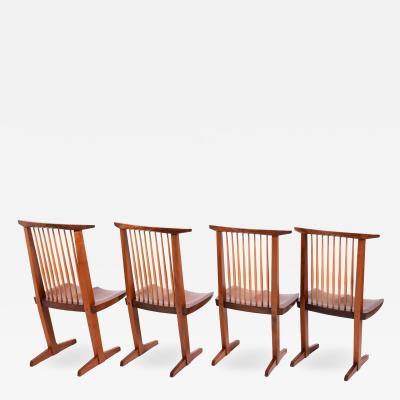 George Nakashima George Nakashima Conoid chairs 1980