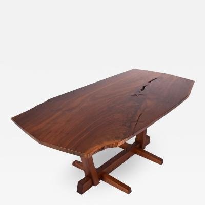 George Nakashima George Nakashima Conoid single board dining table 1980