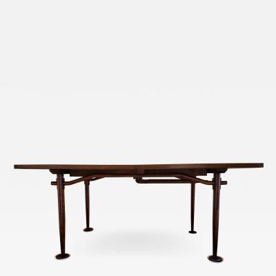 George Nakashima George Nakashima Dining Table Model 202 for Widdicomb 1959 Two Leaves
