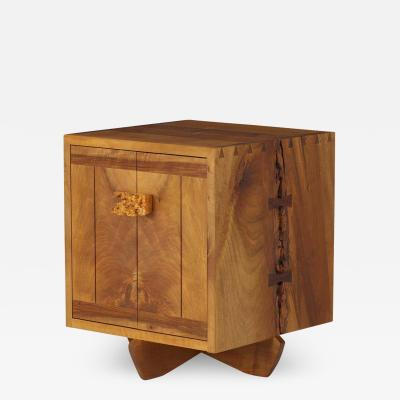 George Nakashima George Nakashima Kornblut Cabinet with Persian Walnut Oregon Myrtle Rosewood