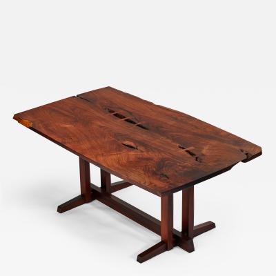 George Nakashima George Nakashima Masterwork Single Board Solid Rosewood Table