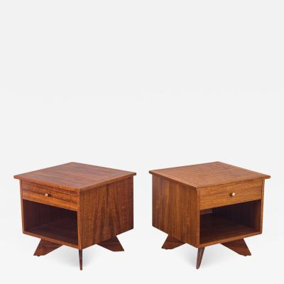 George Nakashima George Nakashima Origins Nightstands