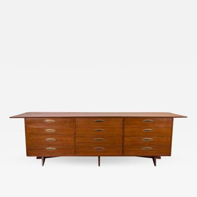 George Nakashima George Nakashima Origins Triple Dresser
