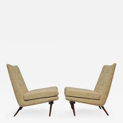 George Nakashima George Nakashima Slipper Lounge Chairs