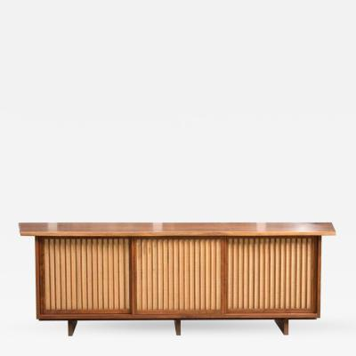 George Nakashima George Nakashima Triple Sliding Door Cabinet 1968