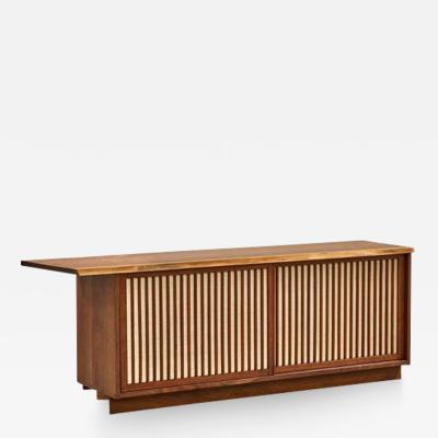 George Nakashima George Nakashima Two Door Walnut Cabinet 1960s