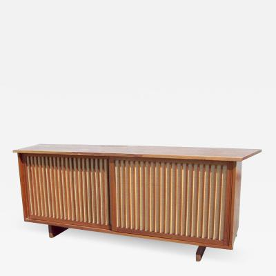 George Nakashima George Nakashima Two Door Walnut Cabinet