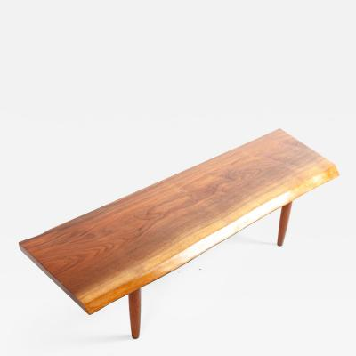 George Nakashima George Nakashima Walnut Bench