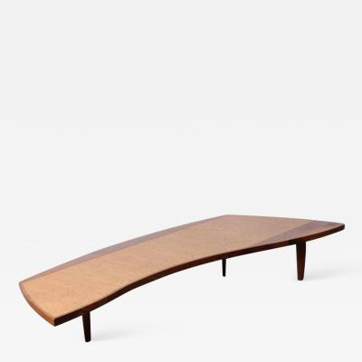 George Nakashima Large Coffee Table by George Nakashima