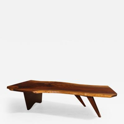 George Nakashima Large Walnut Coffee Table by George Nakashima 1959