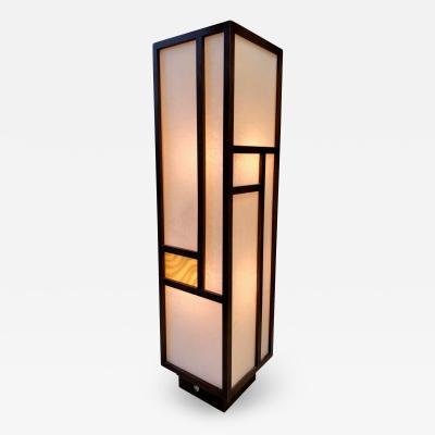 George Nakashima Mid Century Modern Walnut Lamp