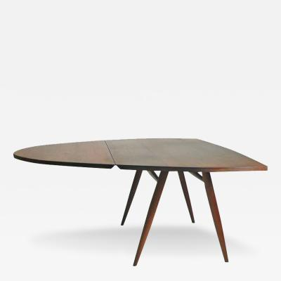 George Nakashima Rare Drop Leaf Table Desk by George Nakashima