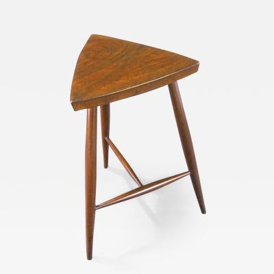 George Nakashima Rare High Stool by George Nakashima