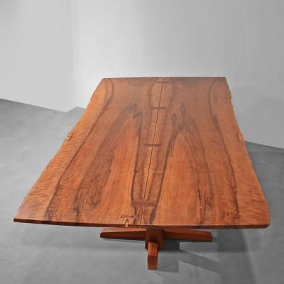 George Nakashima Rare Persian Walnut Conoid Dining Table 114028 49962 Nakashima Coffee Table Walnut Sundra Style Coffee Table