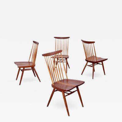 George Nakashima Set of Four George Nakashima New Chairs