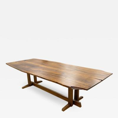 George Nakashima Spectacular 9 ft Frenchmans Cove II Dining Table 1970