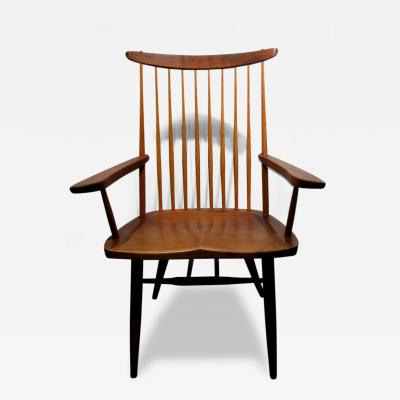 George Nakashima Studio Crafted Walnut New Arm Chair