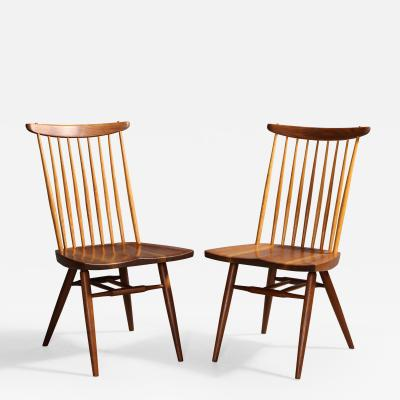 George Nakashima Two New Chairs by George Nakashima