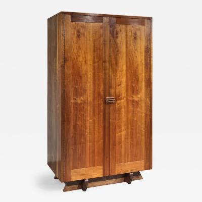 George Nakashima Unique Custom Armoire by George Nakashima 1957 2 avail w different interiors