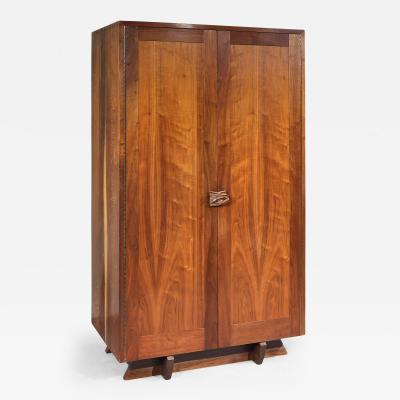 George Nakashima Unique Custom Cabinet by George Nakashima 1957 2 avail w different interiors