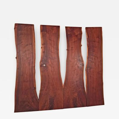 George Nakashima Unique Custom Wall Sculpture by George Nakashima 1963