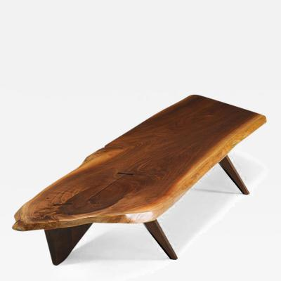 George Nakashima Very Large George Nakashima Slab II Coffee Table 1957