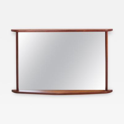 George Nakashima Walnut Mirror by George Nakashima for Widdicomb