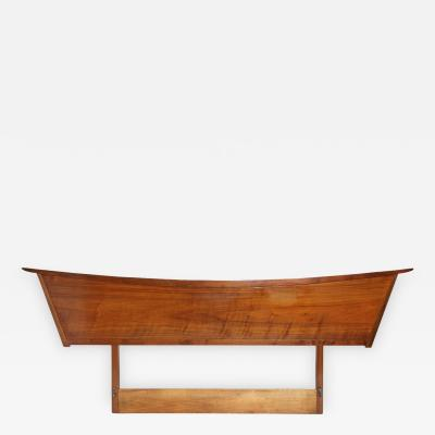 George Nakashima Walnut Orgins Headboard by George Nakashima